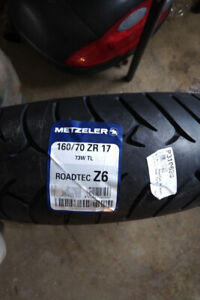 Sport touring rear tire
