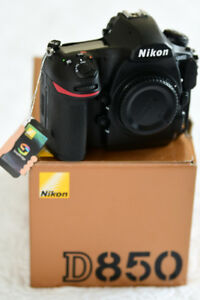 Nikon D850 DSLR Camera Body (new with tags)
