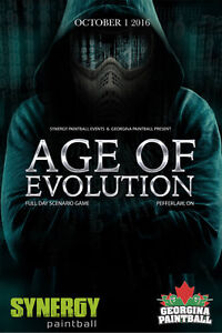 Age of Evolution - Paintball EVENT