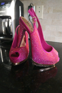 Fuschia Barbie collection by Town Shoes