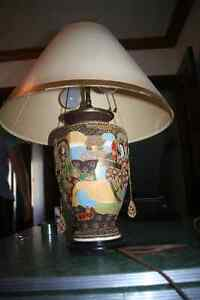 Beautiful Ornate Vintage Asian-inspired Desk Lamp Kitchener / Waterloo Kitchener Area image 4