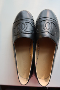 CHANEL Espadrilles - Worn ONCE Size 37