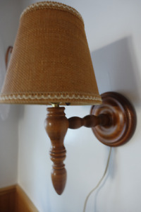 Vintage wall sconce lamp
