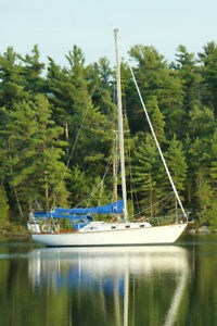 Sailboat For Sale 37 ft Cruising Sailboat With Dinghy and Motor