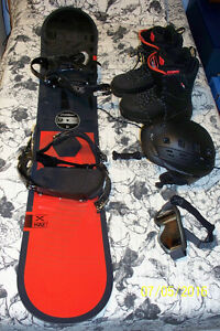 snowboard and accessories Prince George British Columbia image 1