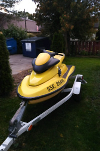 1997 Sea-Doo XP 800 with trailer!