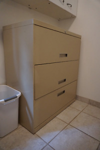 Price Reduced!  3 Drawer Lateral File Cabinet