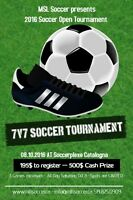 Soccer Tournament 7vs7 , October 8th at Catalogna Soccerplexe