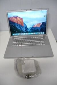 Apple MacBook Pro 15 inch 2.4GHz Core 2 Duo 4GB Memory 160 HDD
