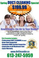 Duct Cleaning Summer Special ONLY $199