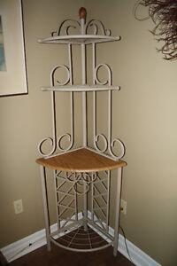 Wrought Iron Corner Shelf
