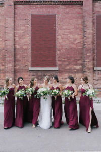 Bridesmaid Dress - Azazie Cabernet