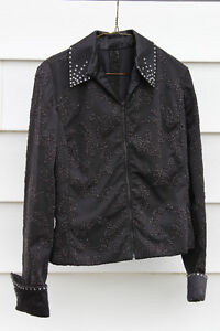 Black Showmanship Jacket