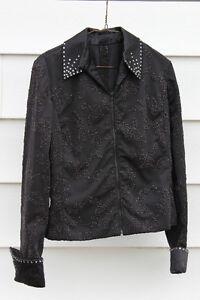 Black Showmanship Jacket