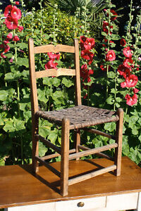 Early Quebec Chair