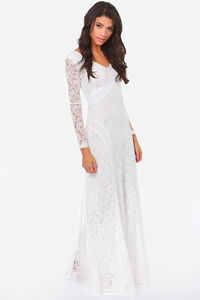 Beautiful White Dress - Grad, Wedding, or Evening Gown