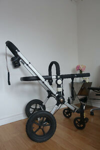 Red Bugaboo Frog Stroller + Accessories