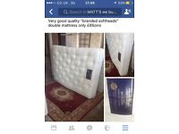 Double pocket sprung mattress only £85ono