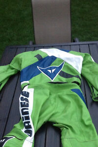 Dainese Motorcycle 2 piece zip up suit London Ontario image 2