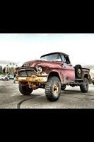 1957 gmc 4x4, trade for 70's tow truck?