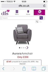 Dfs chair brand new