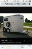 Looking for a horse trailer