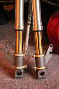 DUCATI 748 916 996 FRONT FORKS,with TI-NITRIDE coating.
