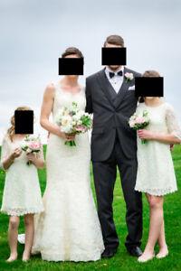 robe de mariée style champêtre