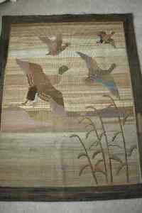 Grenfell Labrador Mission Hand hooked Hanging Rug London Ontario image 1