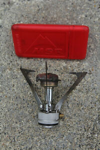 MSR Pocket Rocket compact stove with carrying case. Asking $15.