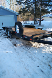 18' Car / Equipment Hauler trailer