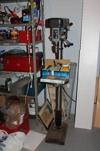 Drill press and attachments