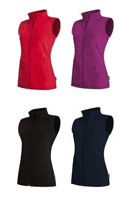 Stedman Damen Fleeceweste ACTIVE FLEECE Weste Bodywarmer S M L XL ST5110 NEU Damen Body Warmers