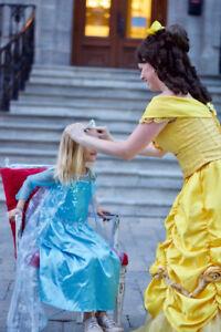 Fêtes d'enfants à domicile: princesse et super-héros