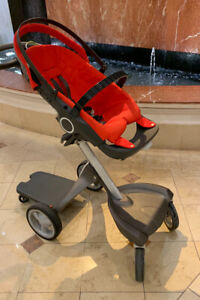 Selling Stokke stroller with many accessories!! - $650 ONLY