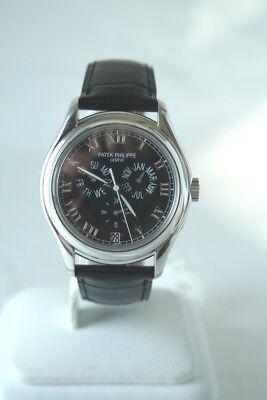 Patek Philippe Annual Calendar Mens Platinum Auto Watch 5035P-001