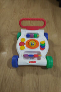 ALMOST NEW Fisher Price Bright Beginnings Activity Walker