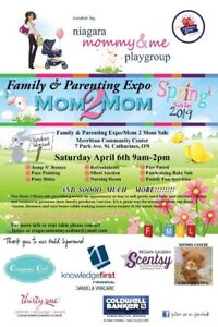 HUGE - 2 Day Mom 2 Mom Sale & Fall Family/Parenting Expo