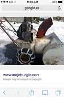 Wanted old snowblowers