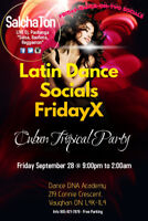 Salsa Dancing Party in Toronto..! ..Friday September 28