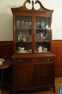 china cabinet with lots of storage