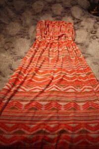 Multicoloured dress