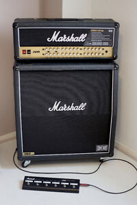 Marshall JVM410H with 1960A 4x12 Cab