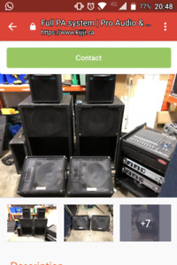 Passive PA system