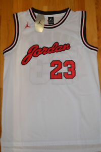 NEW w tags. Michael JORDAN All Embroidered Jersey'>