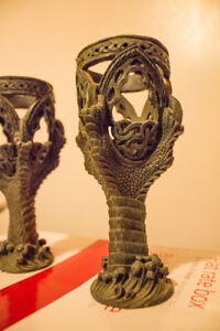 Dragon Claw Candle Holders