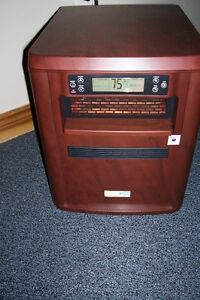 Living Pure 4 in 1 Infrared Heater/Humidifier/Filter/Air Purify