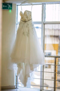 The bridal ballgown is so timeless + Veil ( Text me only)