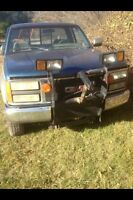 Gmc parts truck 450$ must take full truck