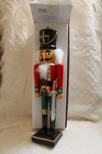 """20"""" Christmas Nutcracker soldier - 4 different ones available"""